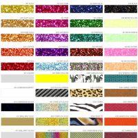 Effektfolien - Eine Übersicht für die Textilveredelung.