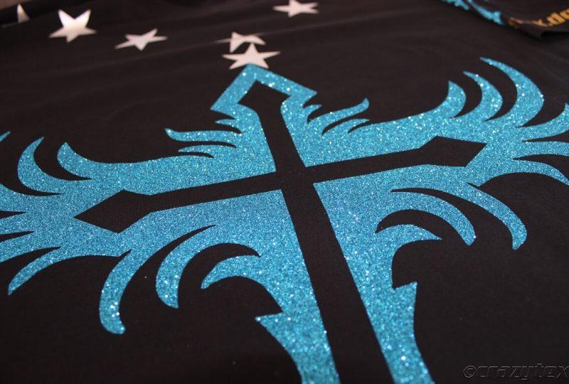 Glitzer-Effektfolien als besonderes Highlight für Shirts