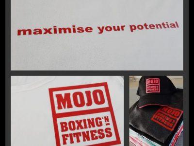 Mojo Boxing´n Fitness Textildruck